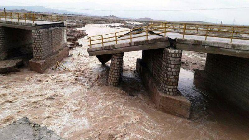 خبرنگاران سیل به 170 پل در همدان خسارت زد