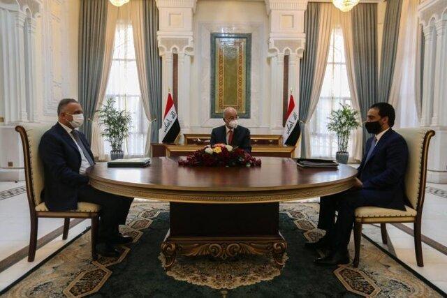 نشست روسای قوای سه گانه عراق پیرامون تحولات این کشور
